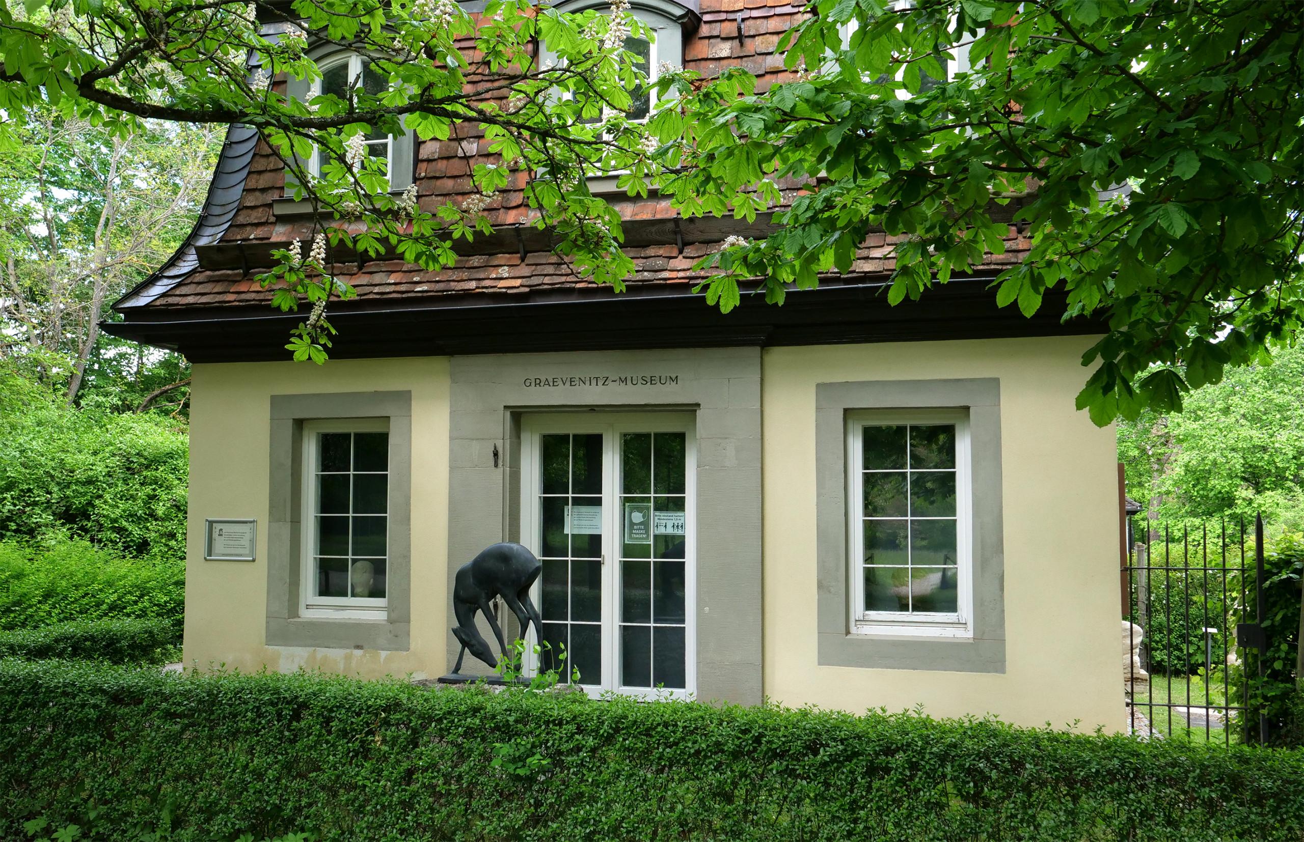 Graevenitz Museum, Schloss Solitude, Stuttgart. Photo: Angela Anderson (2021)